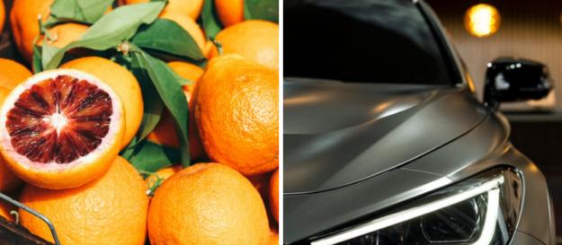 Efekt skórki pomarańczy na lakierze, skórka pomarańczy na samochodzie, morka na lakierze, solidny lakiernik